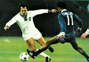 Beckenbauer face à Cubillas