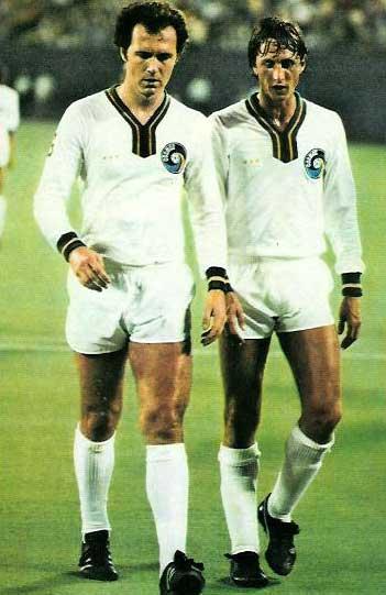 Beckenbauer et Cruyff