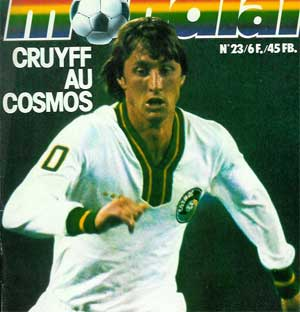 Johan Cruyff signe au Cosmos
