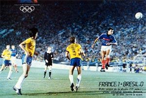 France - Brésil 1984