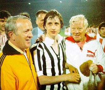 Johann Cruyff, fatigué mais heureux