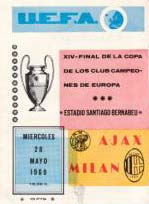 Affiche Ajax - Milan AC