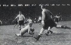 La seule finale de coupe de France (1930) à laquelle a participé Villaplane